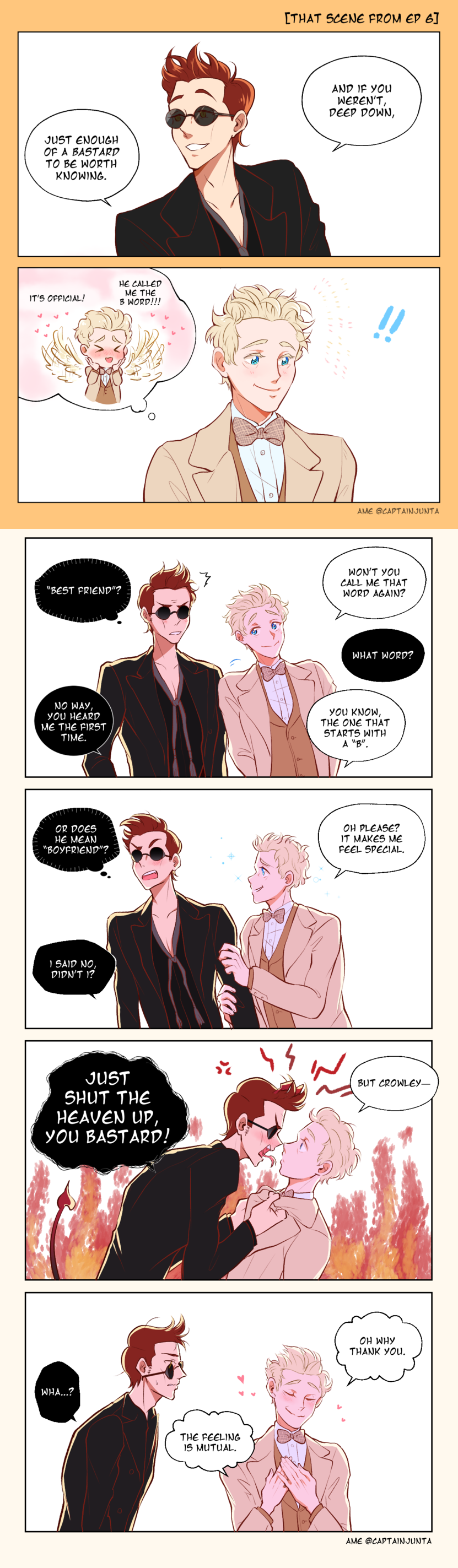 Pin by M E on Ineffable Husbands in 2019   Good omens book