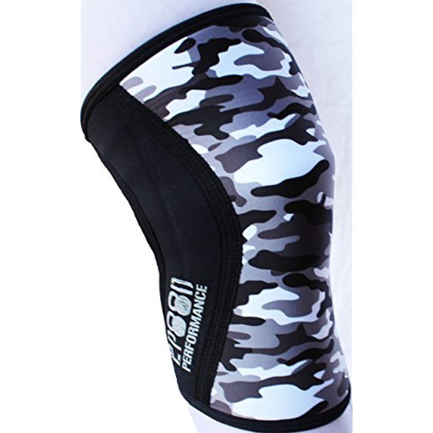 2319ca56fc 2POOD Performance Knee Sleeve (SOLD AS PAIR OF 2) for Fitness, Cross  Training, Squatting, Weightlifting, Wrestling, Compression and more.