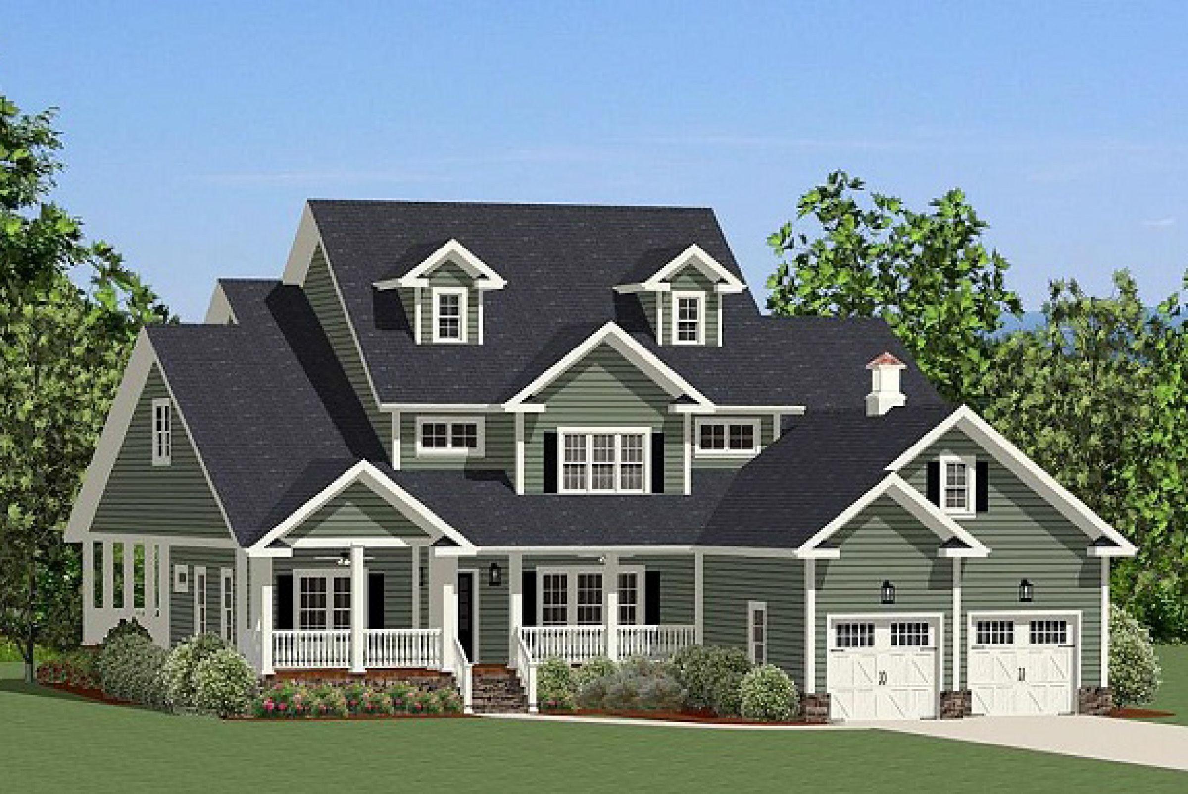 Plan 46256LA Traditional House Plan with WrapAround