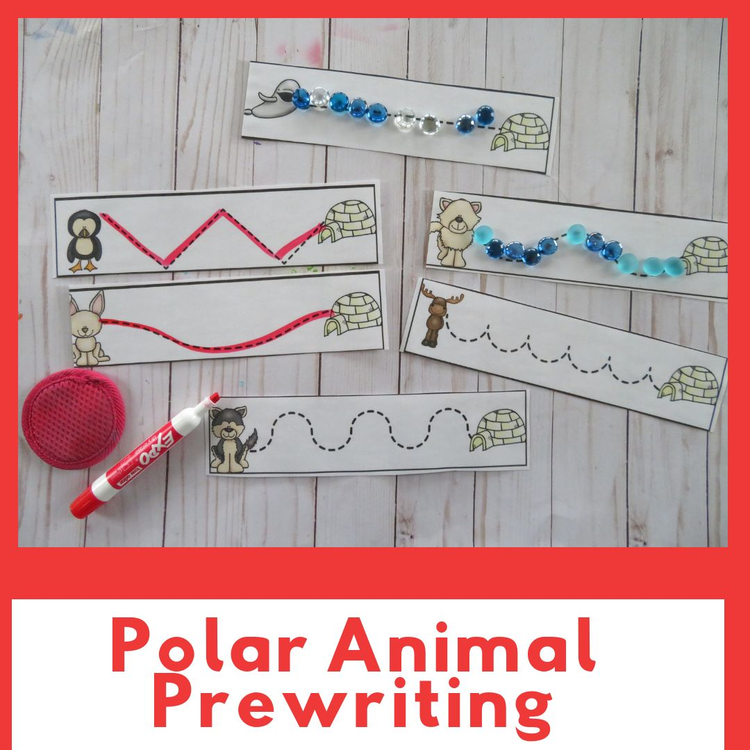 Polar Animal Preschool Pack By Busy Hands And Minds