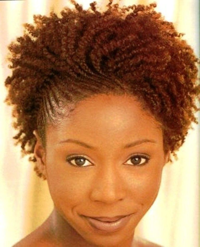 Awesome Braided Hairstyles For Short Natural African American Hair ...