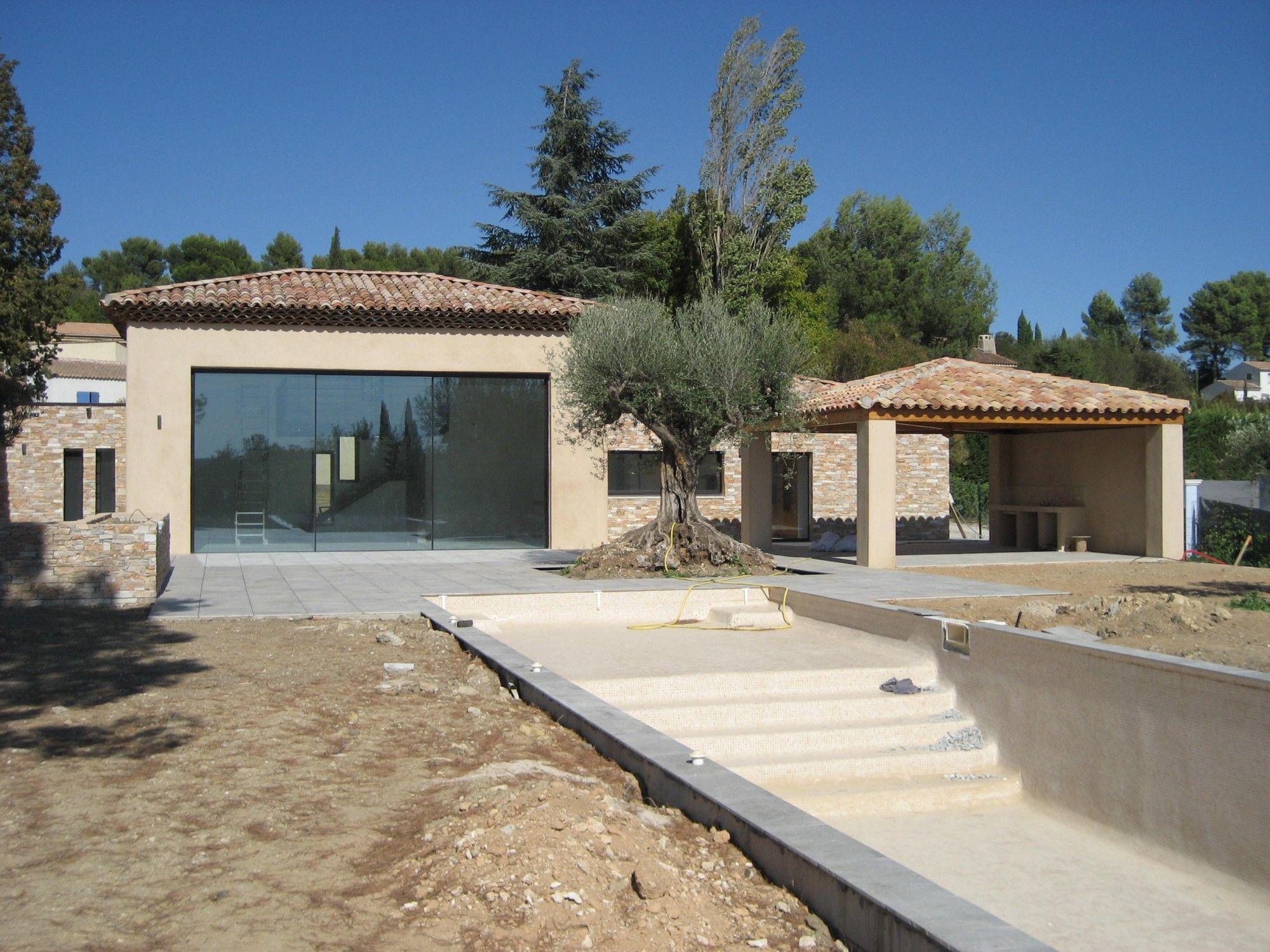 Pose de baie vitrée coulissante PANORAMAH à CABRIES dans un superbe mas provençal … (avec images ...