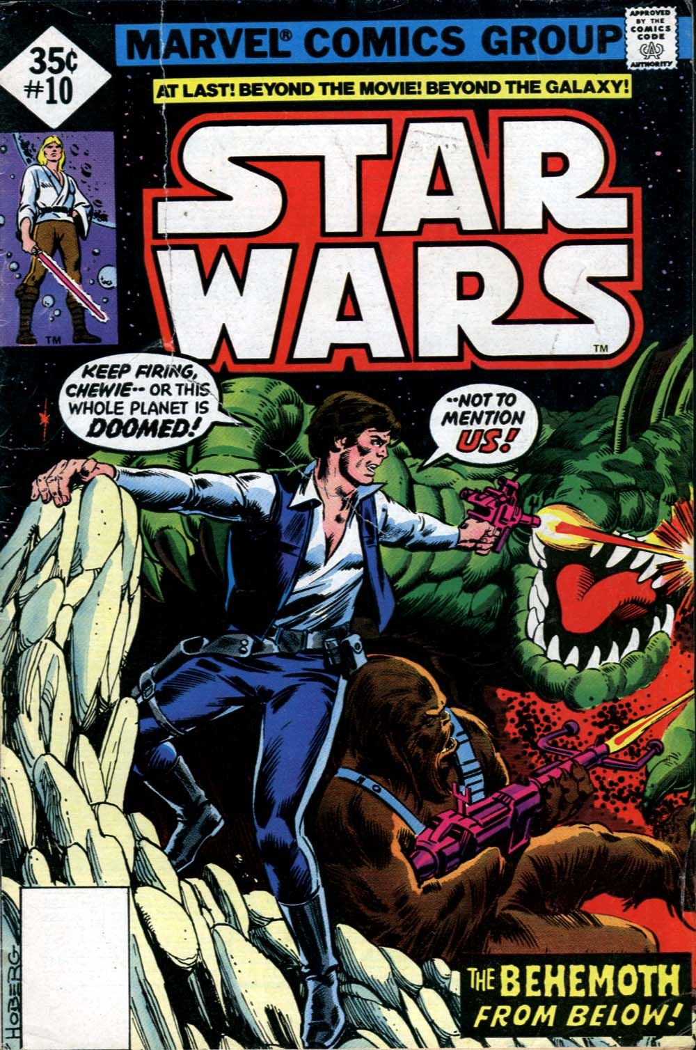 Star Wars #10, one of my very first comics