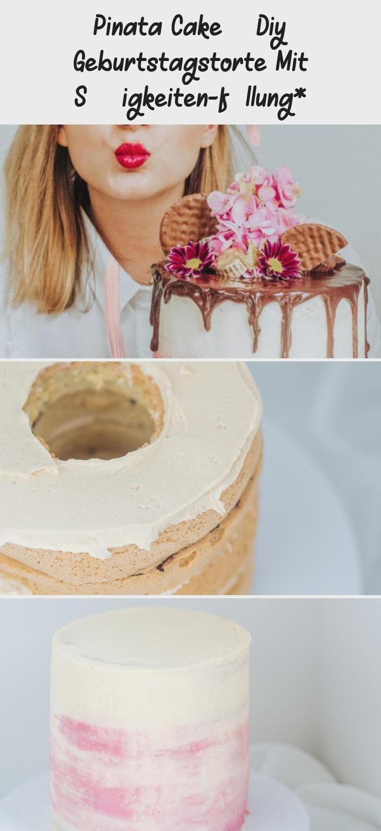 Photo of Pinata Cake – DIY Geburtstagstorte mit Süßigkeiten-Füllung*, Surprise-Inside-…
