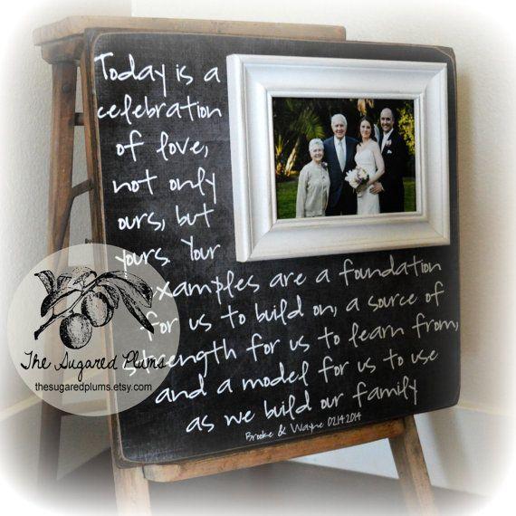 Parents Thank You Gift, Parents Thank You Gift Wedding, Wedding ...