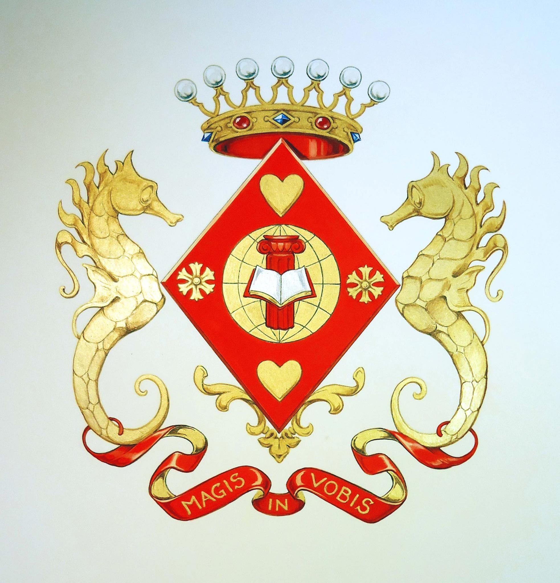 Prisca Van Dessel Heraldry Coat Of Arms Animal Art