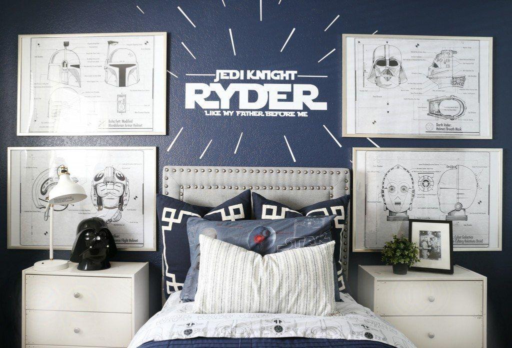 Star Wars Kids Bedroom Star Wars Kids Bedroom Star Wars Bedroom Star Wars Wall Decor