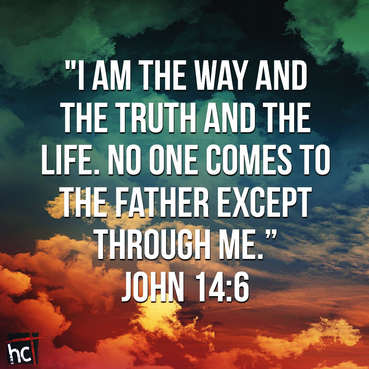 Bible verse ~ John 14:6