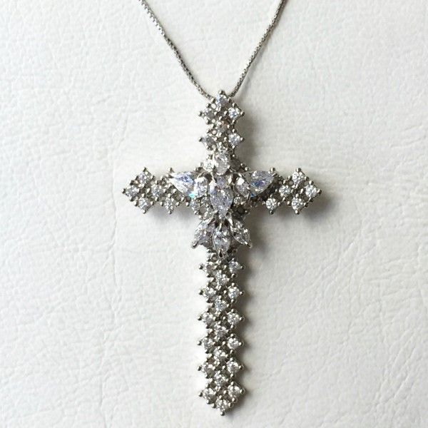 Colar Crucifixo Prata – Lanarée Acessórios   acessórios   Pinterest ... 1995c5e4e4