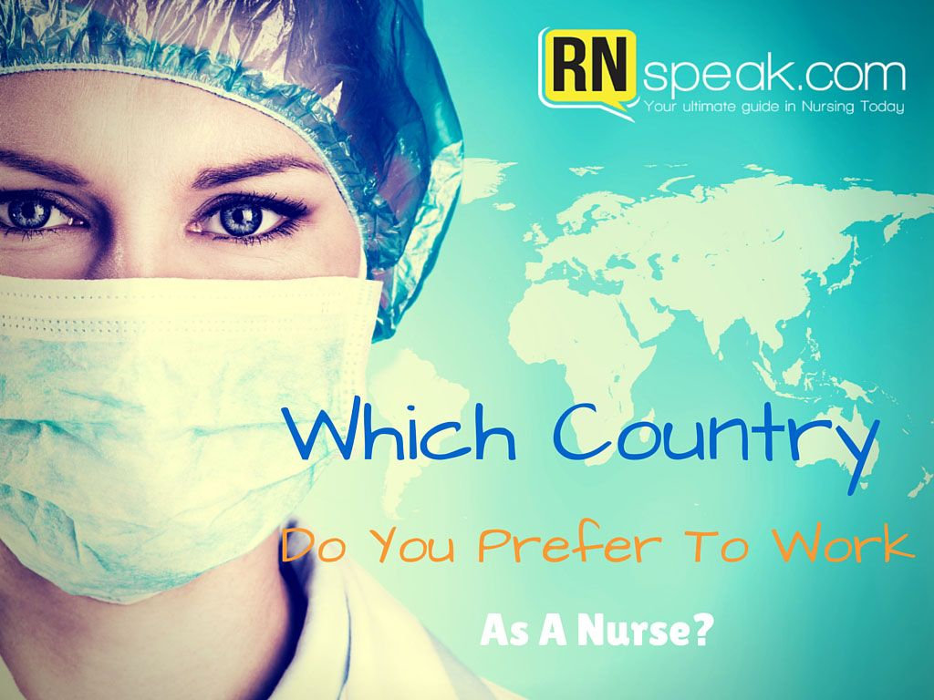 A lot of nurses are planning to work outside their country