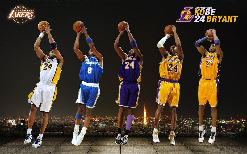 jump shooter through the yearsSooo Smooth! Kobe, Kobe