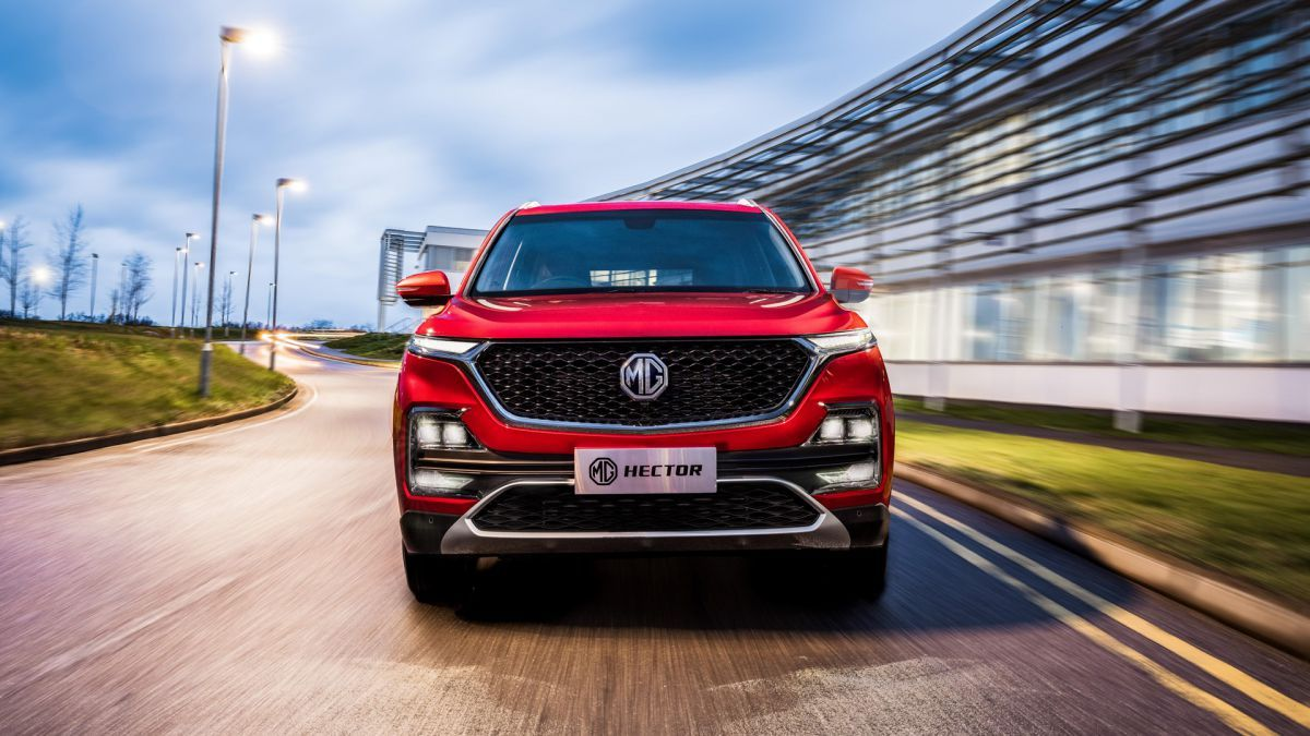 Mg Motor Teases The Launch Of Mg Hector Internet Car Unveils