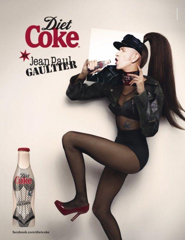 Coca Cola Diet por Jean Paul Gaultier