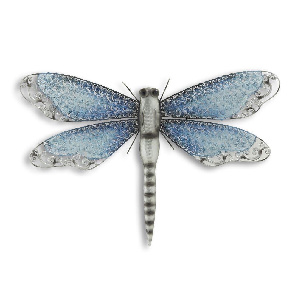 Afbeeldingsresultaat voor blauwe wand decoratie