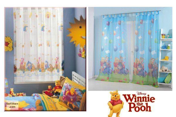 Kinderzimmer Gardinen Winnie Pooh am besten Büro Stühle Home ...