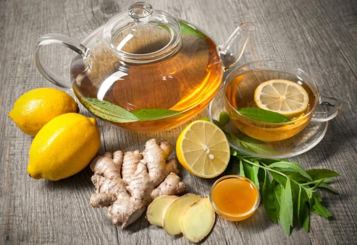 ginger has a long history of use for relieving digestive