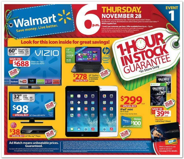 Wal Mart Black Friday Ad With Images Black Friday Ads Walmart Black Friday Ad Black Friday Flyer