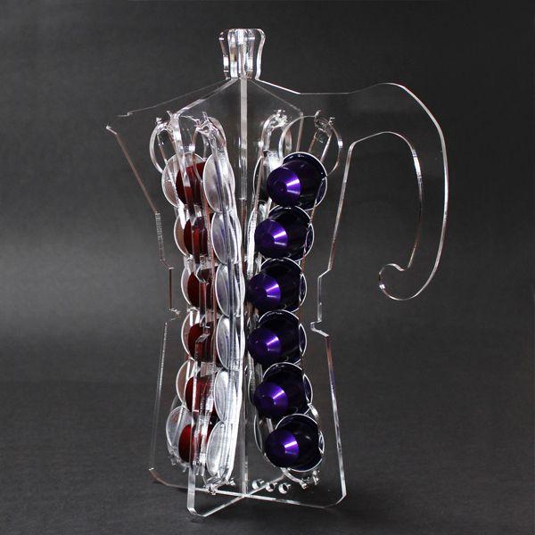 Moka porta cialde nespresso oggetti costruiti con cialde - Nespresso porta cialde ...