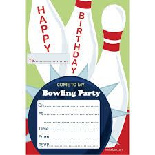 Image Result For Ten Pin Bowling Birthday Invitations Tween Girls