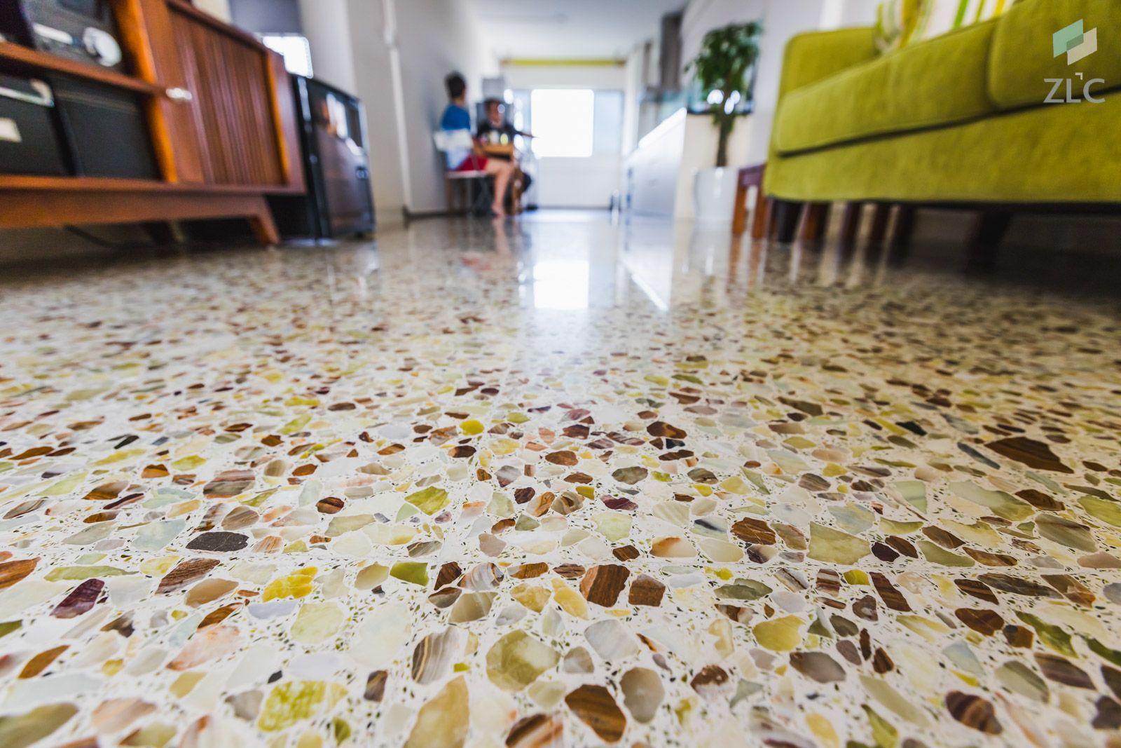 Ang Mo Kio Ave 4 4 Room Hdb Terrazzo Flooring Flooring