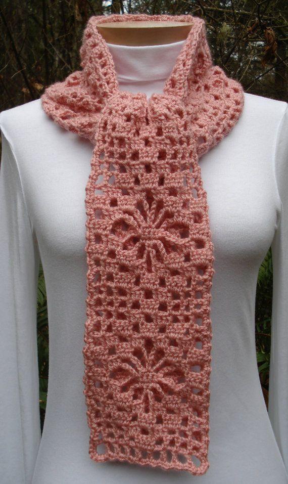 Spider Web Lace Scarf – PA-302 - Crochet Pattern PDF | Bebe