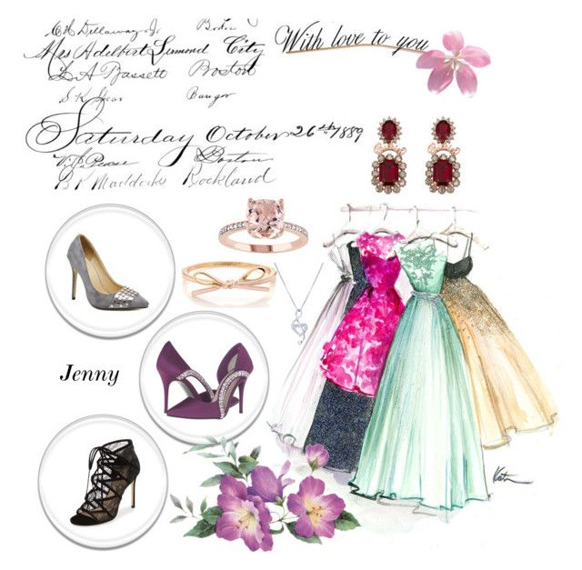 """for women"" by smile2528 ❤ liked on Polyvore featuring Caparros, Pour La Victoire and BERRICLE"