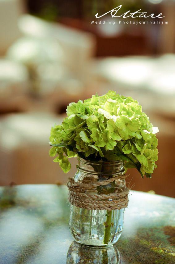 Mini arreglos florales Bodas al aire libre   Outdoor weddings