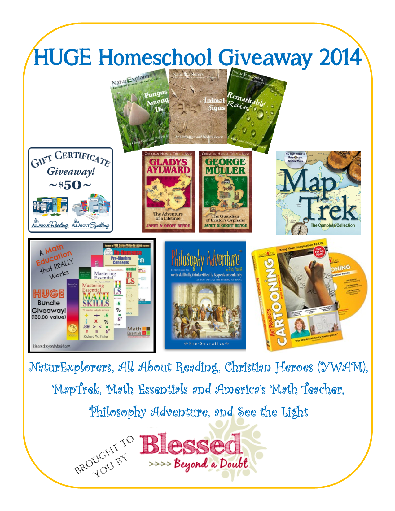 Enter To Win Some Great Prizes In This Huge Homeschool