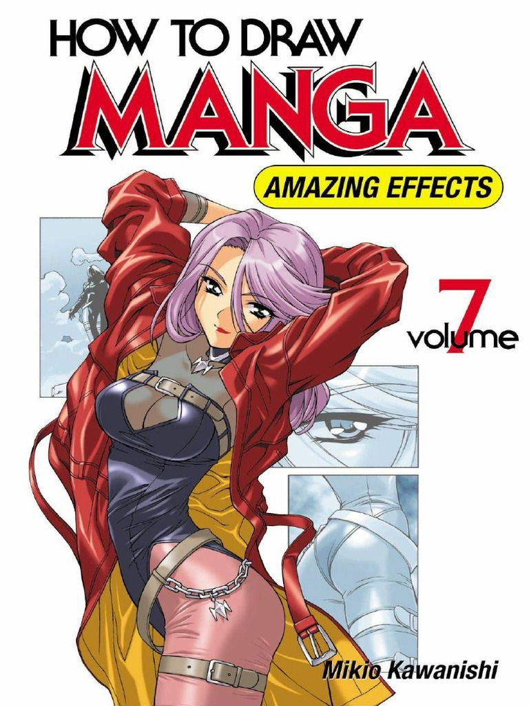 Dibujar Manga Libros How To Draw Manga Vol 7 Amazing Effects Libros De Arte In