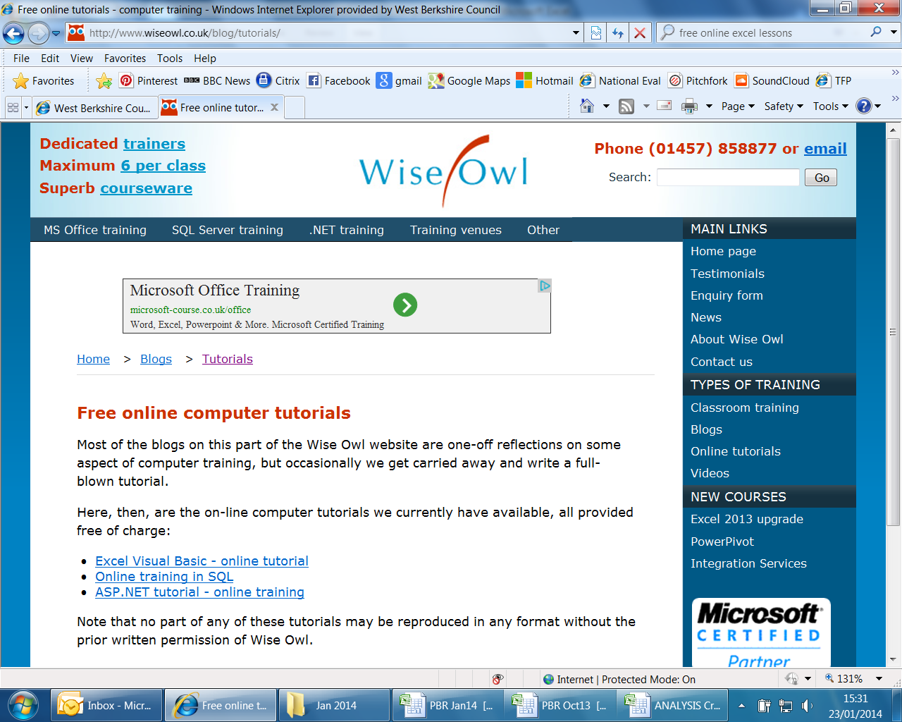 Wise owl is amazing - used it for excel tutorials and it's