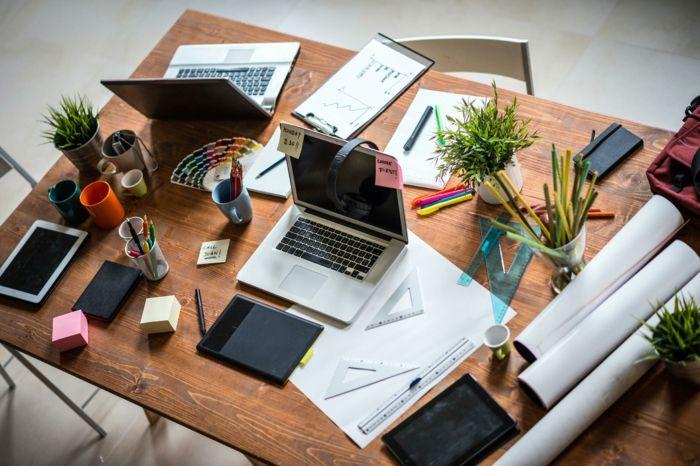 Schreibtisch Ideen Und Tipps Fur Die Perfekte Buroorganisation