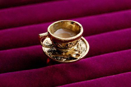 Anel Café com Leite