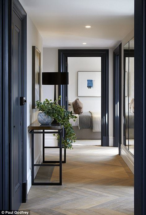 Mansion where britain   schindler helped jews is converted to flats white wallsblack also sassydesignr fab foyers decor home hallway decorating rh pinterest