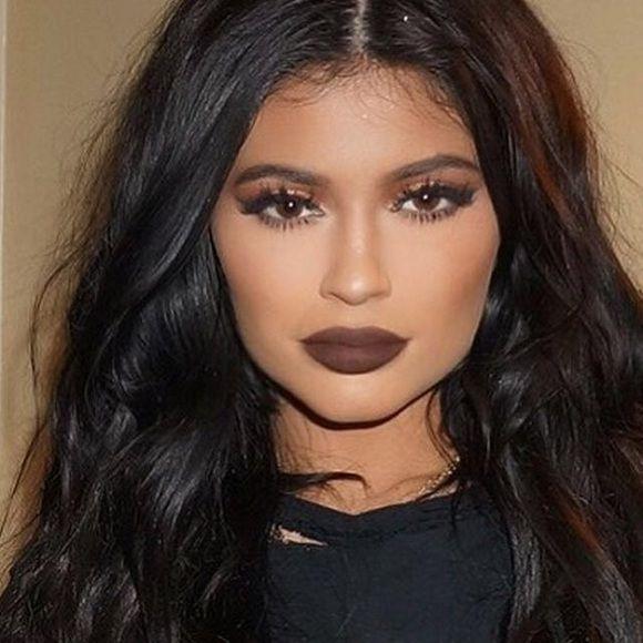 kylie lipstick true brown k dark