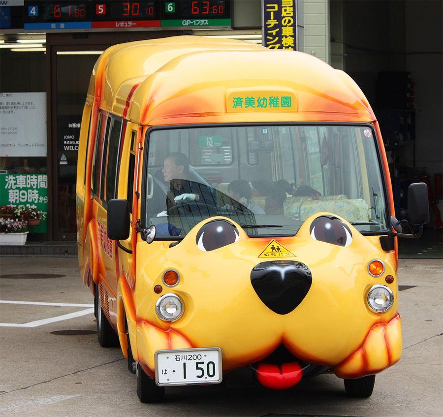Прикольные картинки с автобусом