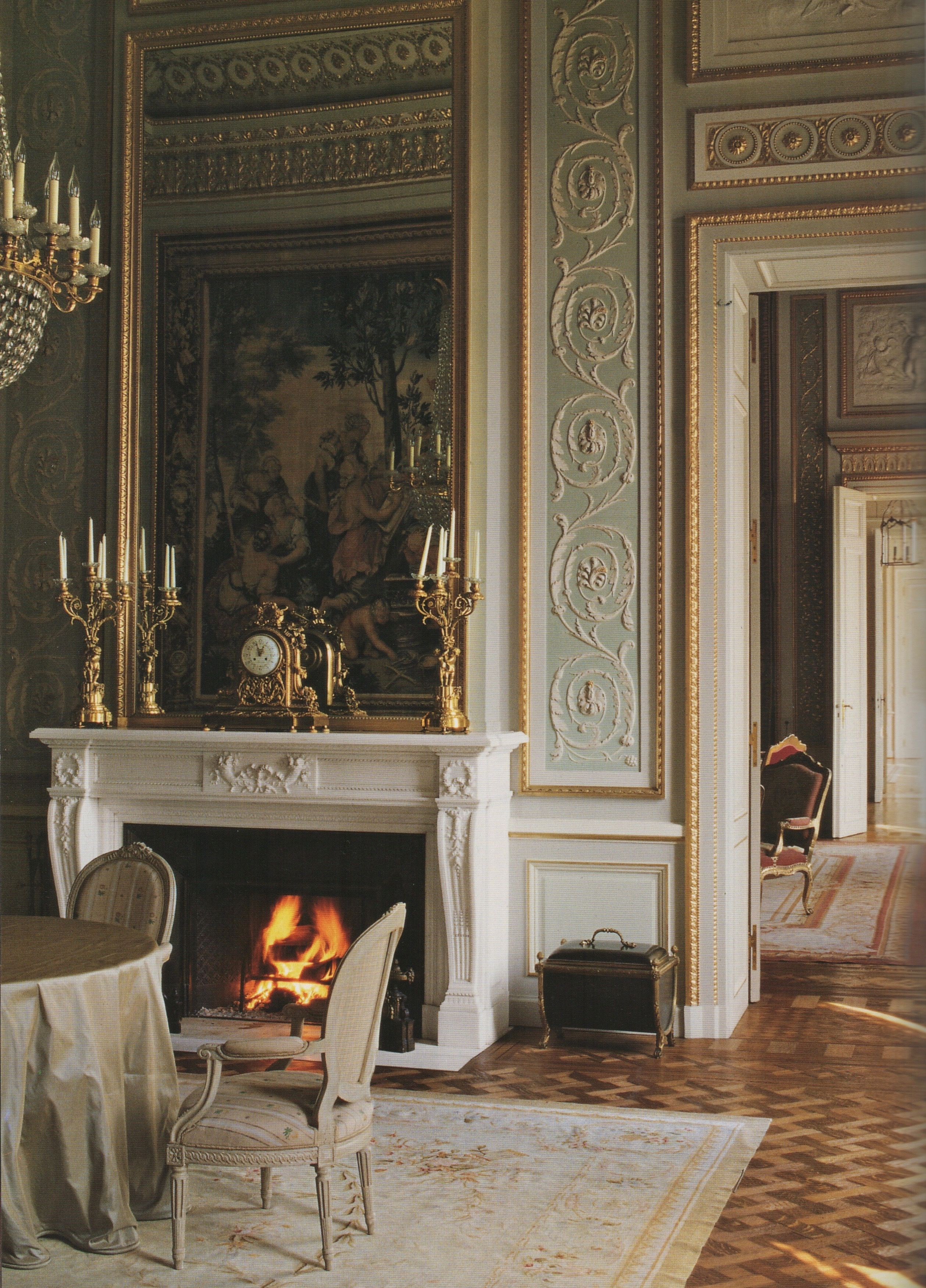 The salon des princes restored by axel vervoordt at the for French interieur
