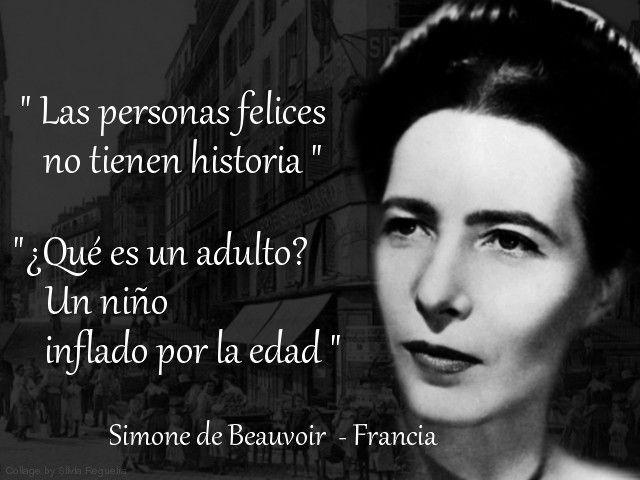 Simone De Beauvoir Frases Buscar Con Google Eu E Minhas