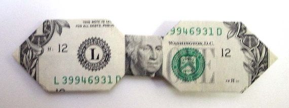 Dollar Bill Bow Tie By Danaminiart On Etsy 300 Proyectos Que