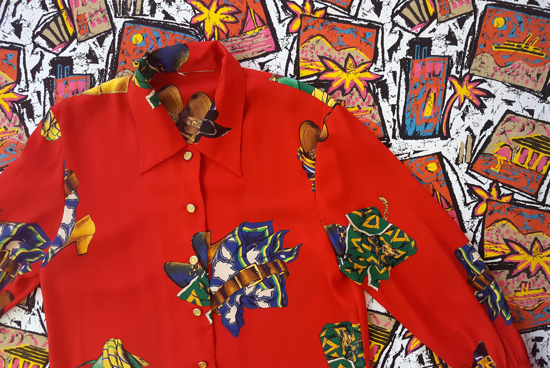 ee7b9d2665ef48 Vintage 90s Baroque Shirt