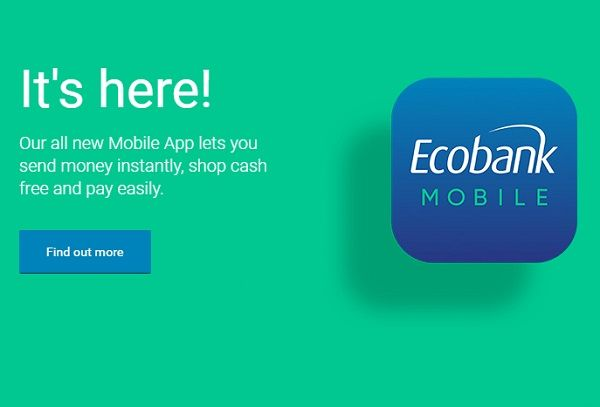EcoBank Unified Mobile Banking App allows customers make