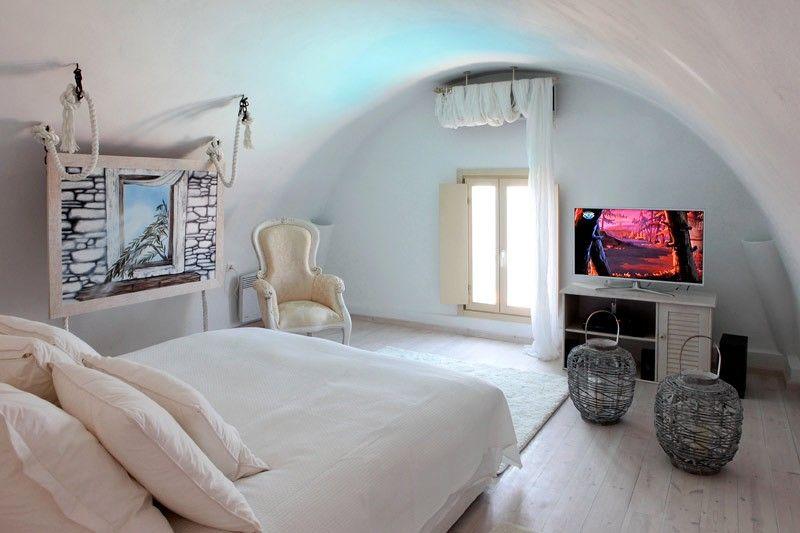 Michaela Residence Acrotiri Sadorini Greece Summer Living Room Small Studio Apartment Design