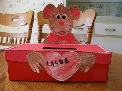 Shoe Box Decoration Ideas Shoebox  I 3 U Valentine Pinterest  Box Holidays And