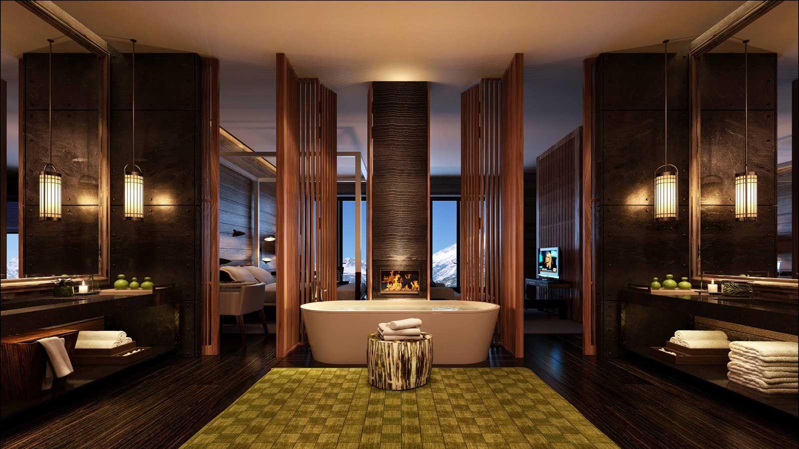 Luxury swiss hotel the chedi andermatt hotel ski resort for Design skihotel
