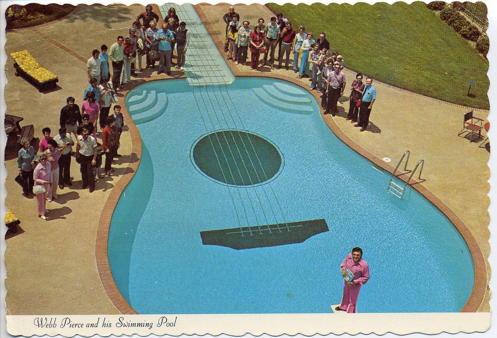 Webb Pierce S Pool Swimming Pools Cool Pools Beautiful Pools