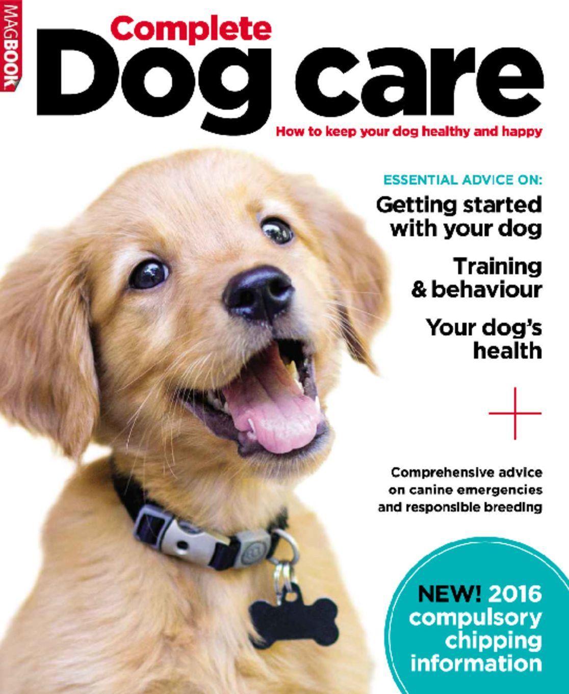 Complete Dog Care Back Issue January 2016 Digital Dog Care