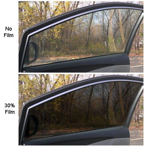 F400 Series 35 Reflective Automotive Window Tint 40 X 100ft 1 5mil 2ply Reflective Black Excellent Heat Shrinkage And Worka Tinted Windows Tints Automotive