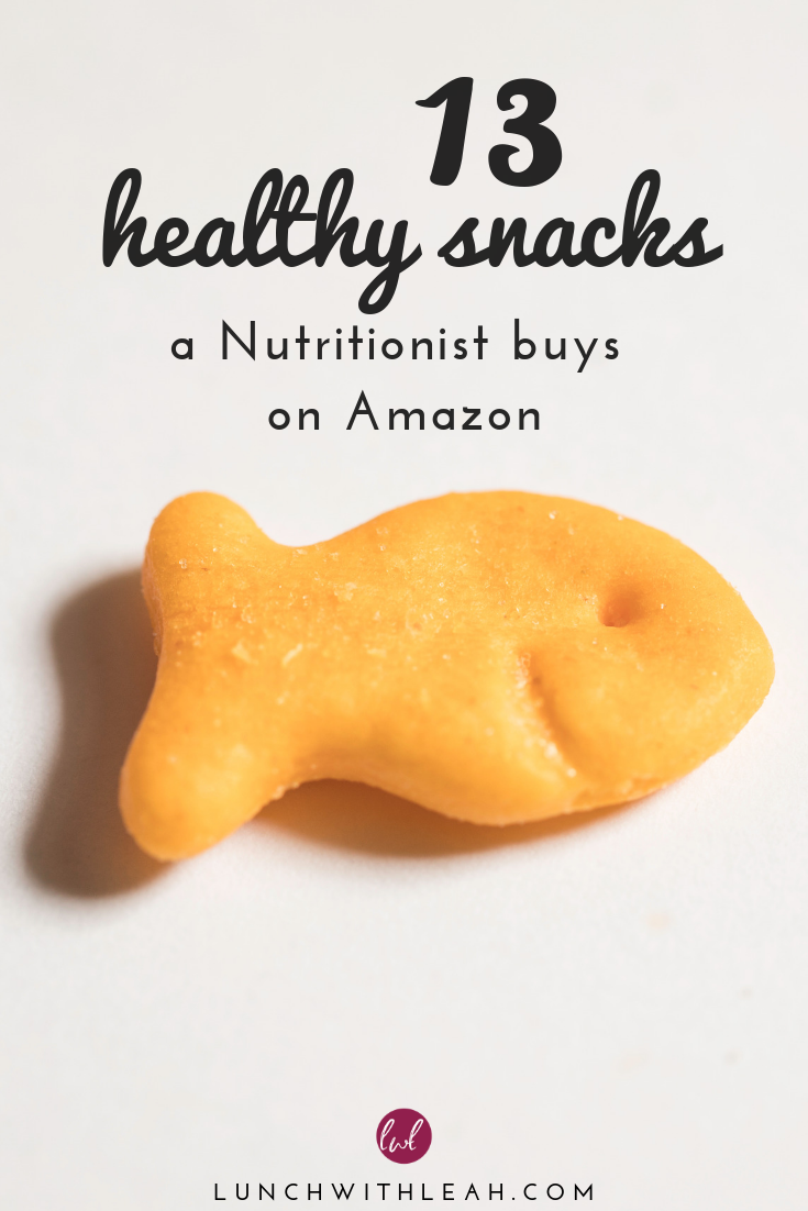 13 Healthy Snacks a Nutritionist Buys on Amazon • Lunch with Leah – Carey&CleanEatingS
