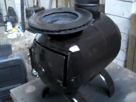 Wood Burning Stove Woodburner Coal Gas Bottle Stove Shed