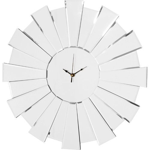 Found it at Wayfaircouk 55cm Sunburst Mirror Wall Clock Home