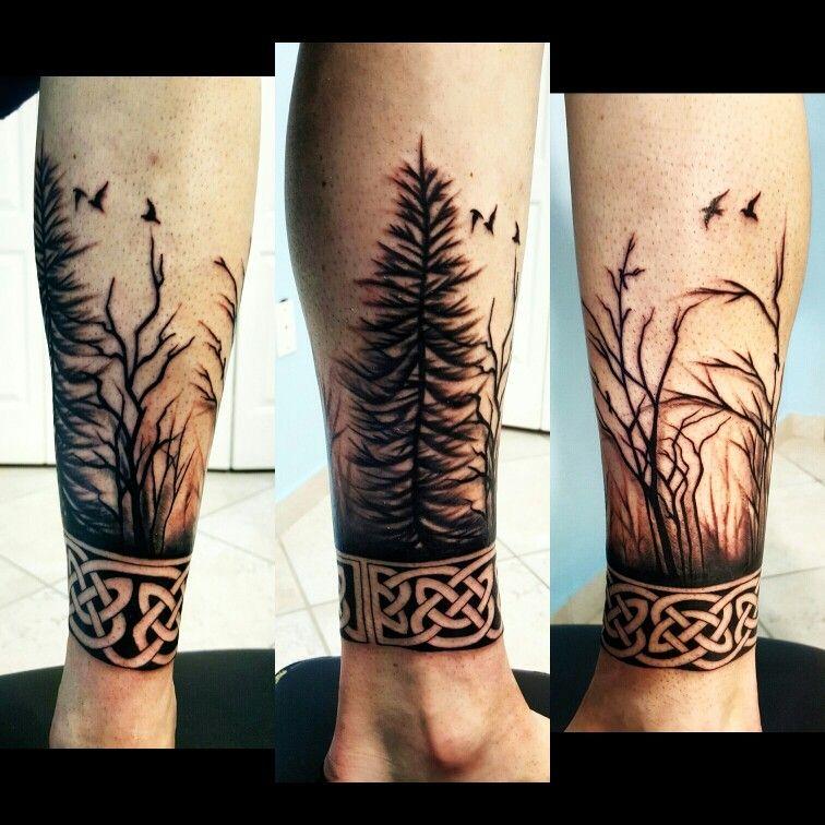 Arboles Tatuajes Tatuajes Pierna Tatuajes Para Hombres